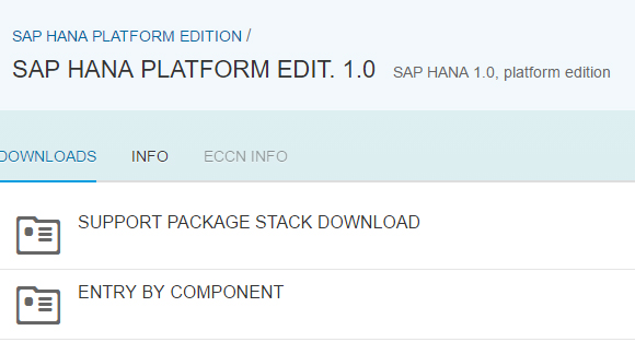 SAP HANA PLATFORM EDIT