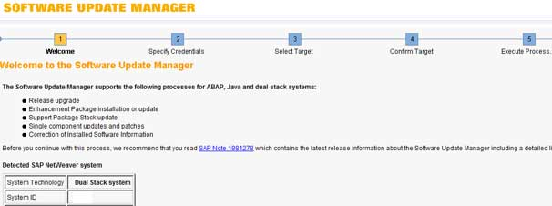 Launch SAP Software Update Manager (SUM) to Enhance Process in SAP