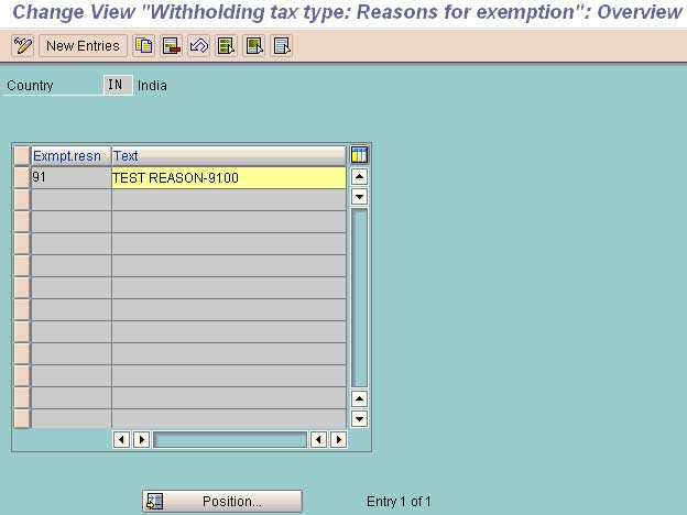 first image of Define Withholding Tax Codes In Sap Fico with Configuring Withholding Tax (TDS) in SAP FICO