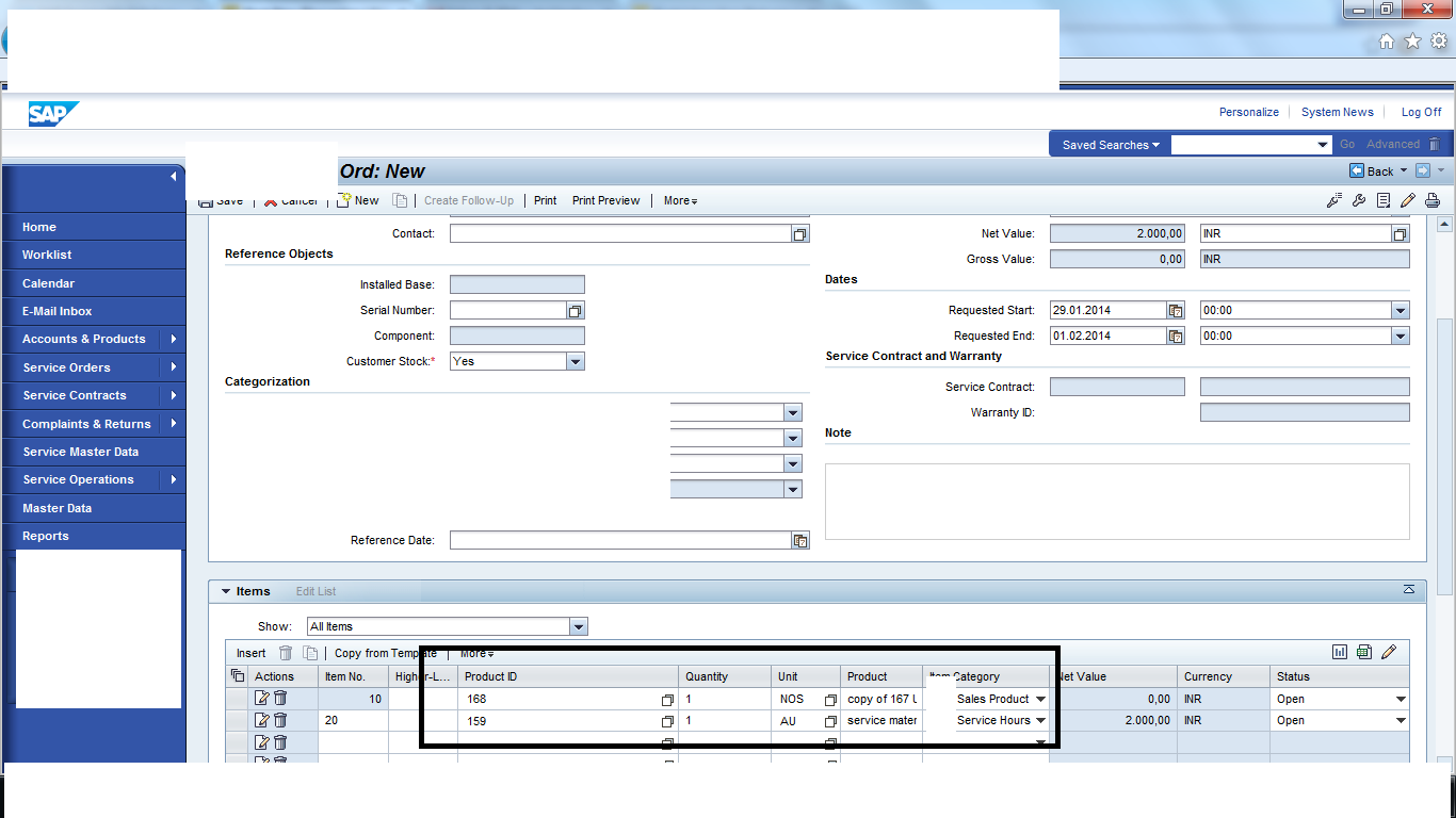 In Crm Service Getting Error In Order Replication To Sap