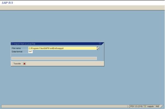 ABAP Code Sample to Upload Data Using BDC Recording , PDF Book