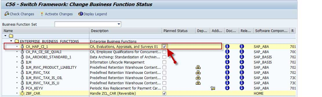 How to Activate Business Function in SAP in SAP NetWeaver