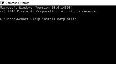 Install OpenCV Python PIP in Windows