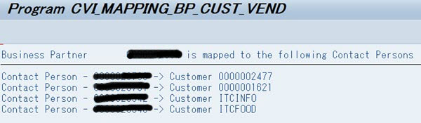 Use Contact Person in S/4 HANA