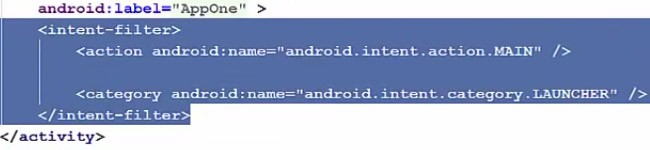 Explicit and Implicit intent in Android