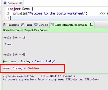 Code Example Getting Started with Scala | Scala | STechies