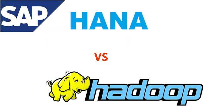 Difference between SAP HANA and Hadoop