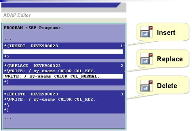 Modification-Assistant-Example-ABAP