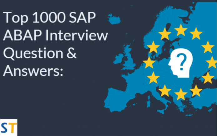 SAP-ABAP-Interview-Questions