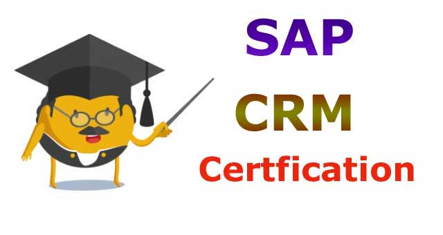 SAP CRM Certification Cost   Course Fees and Duration in India