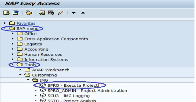 SPRO Meaning and Use in SAP in SAP BASIS