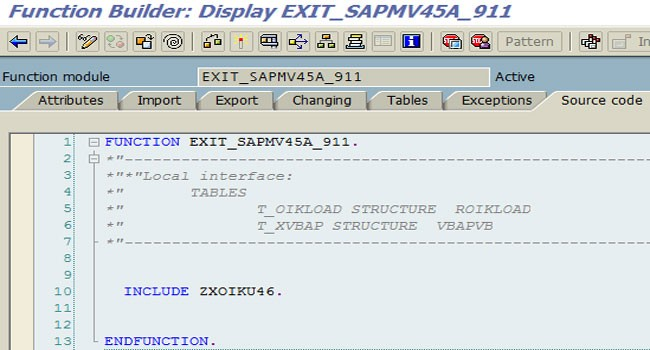 SAP User Exits and Enhancements in SAP ABAP