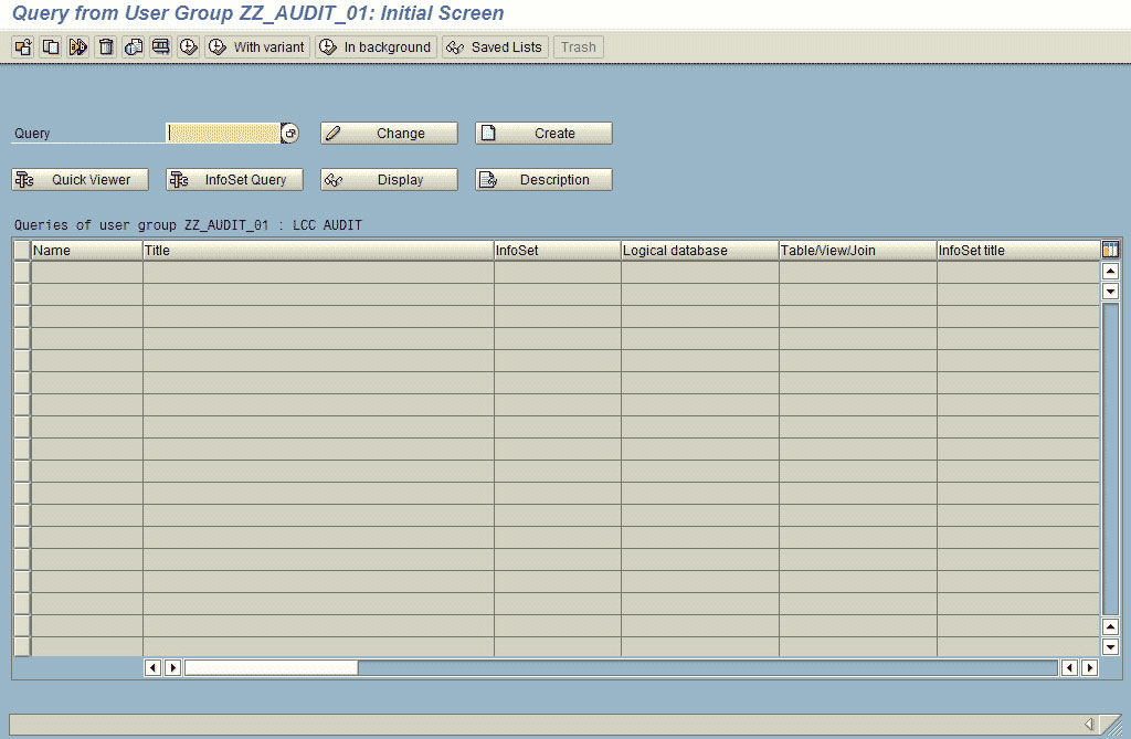 SAP Query Step by Step Guide in SAP ABAP