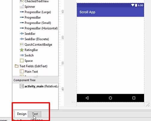 Android ScrollView