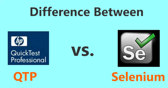 Differences between Selenium and QTP