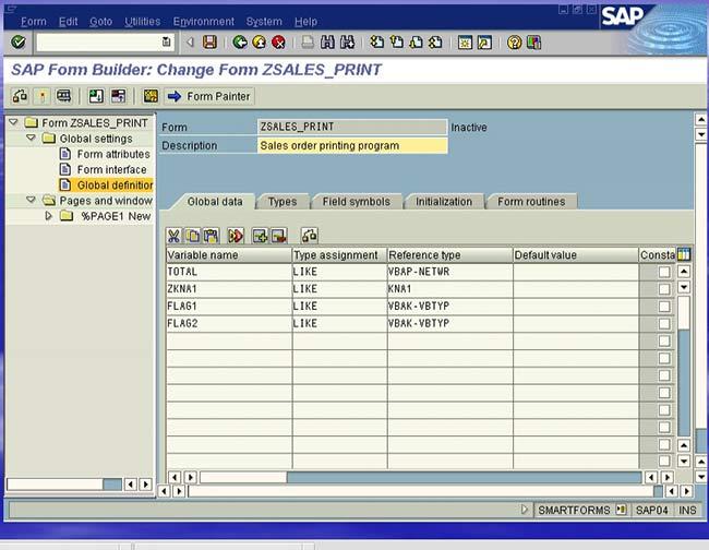 Smartforms for Beginners in SAP ABAP
