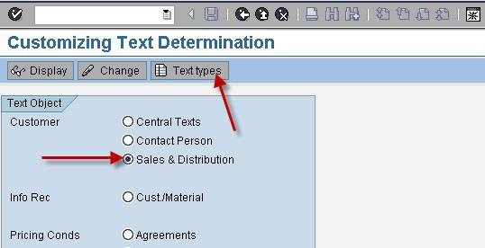 Text Determination SAP-SD in SAP FICO