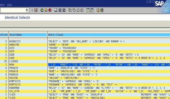 ST05 - SQL Trace Analysis in SAP ABAP