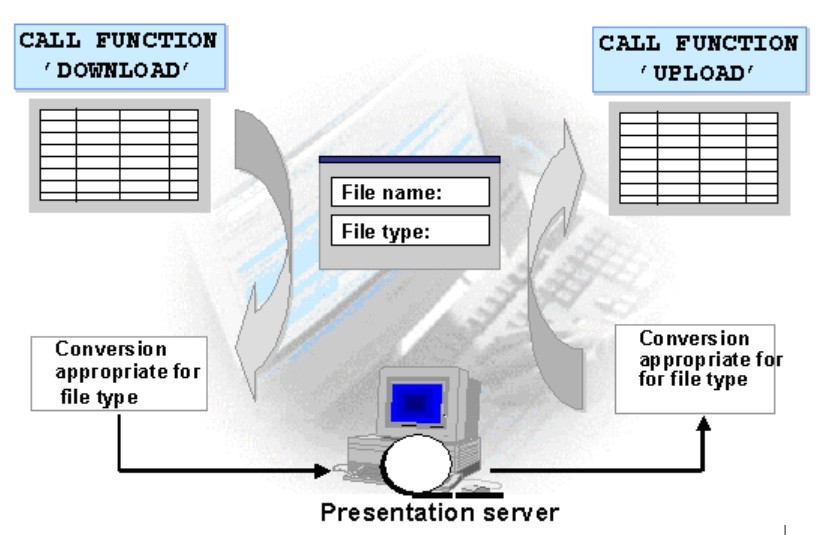 File Handling - Presentation and Application Server in SAP ABAP