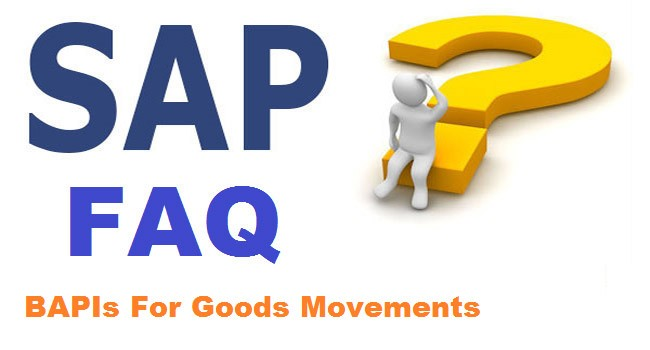 SAP BAPI Interview Questions and Answers