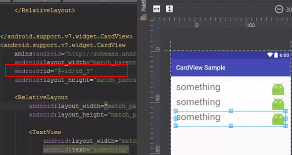 CardView Example in Android Studio