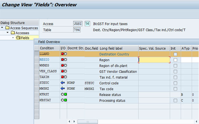 Control Code and GSTIN Vendor Classification Fields Missing