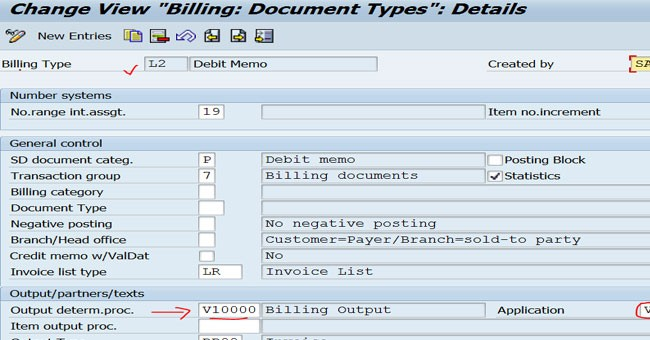 differences between credit memo and sales invoice in sap fico