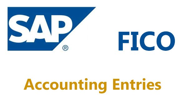 Accounting Entries in SAP FICO