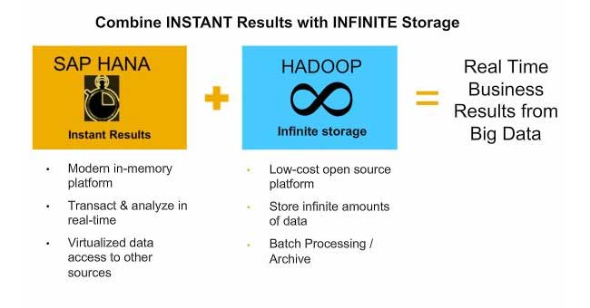 Importance of HANA and Hadoop in SAP