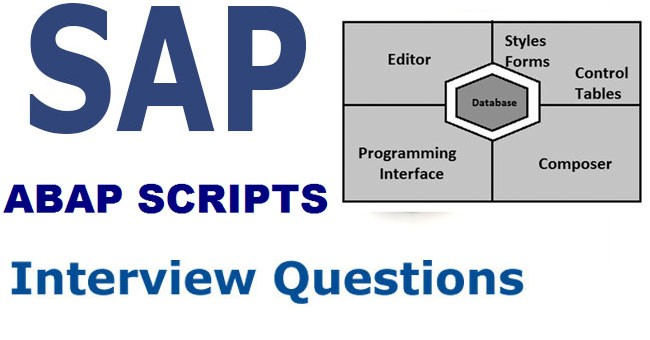 ABAP Scripts Interview Questions and Answers