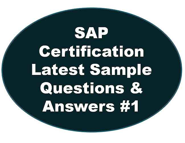 SAP ABAP Certification Exam Questions and Answers