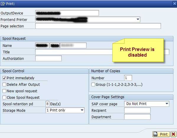 ABAP List Print Dialog Interview Questions and Answer