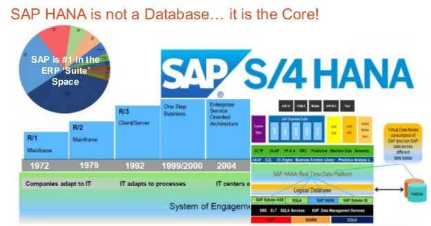 Difference Between S 4hana And Sap Suite On Hana