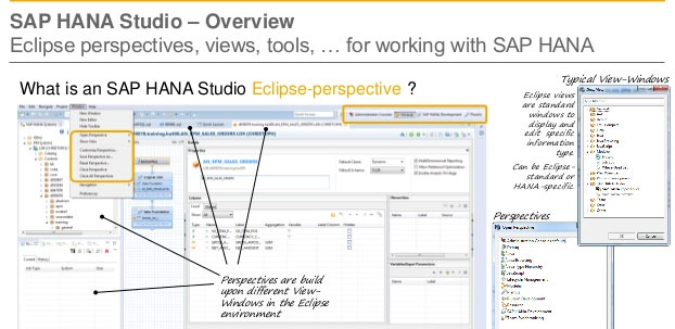 sap hana studio guide