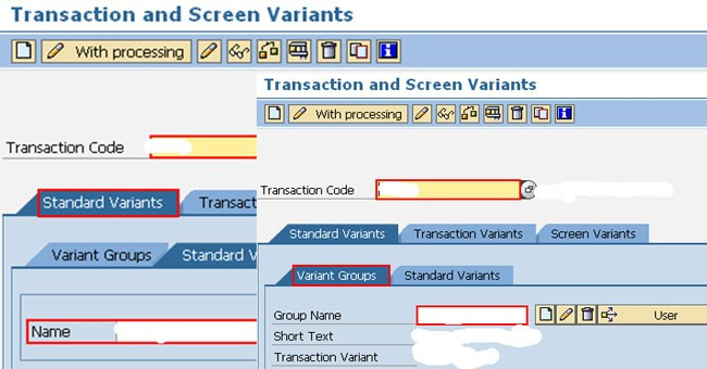 How to Create a Screen Variant with Transaction SHD0 ? in