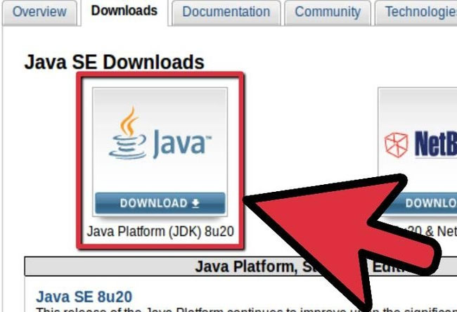 Downloading Java JDK to Configure Android Studio