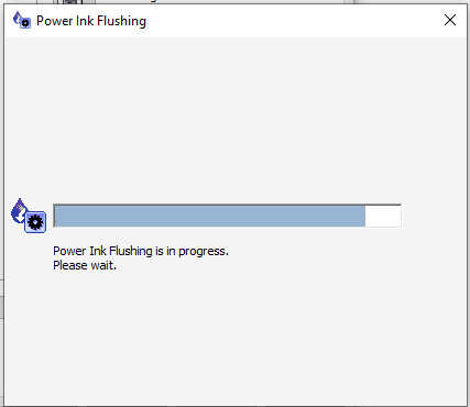 Power Flush/ Clean your Printer Head for Epson l805 in Windows