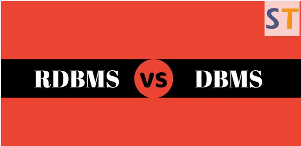 Differences Between DBMS and RDBMS
