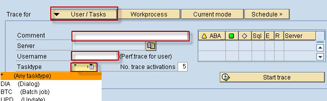 ST12 ABAP Trace Analysis for Performance Tuning