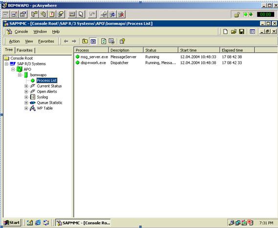 OS level checking for SAP running in SAP BASIS