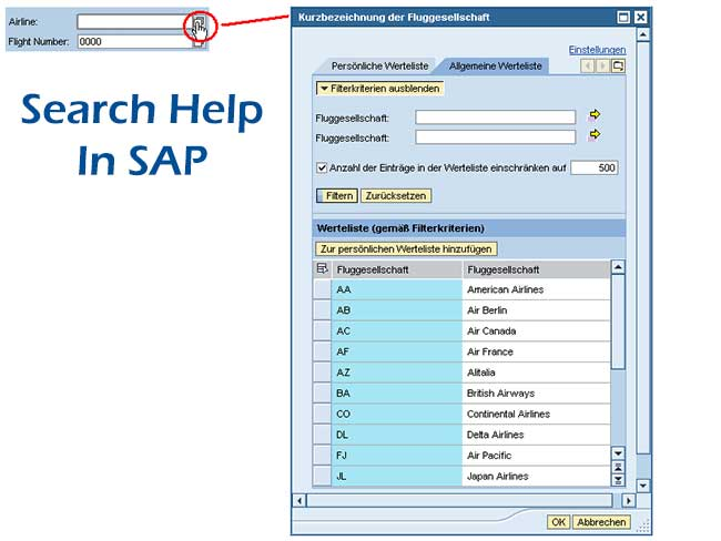 Attach Search Help to Selection Screen Field in SAP ABAP